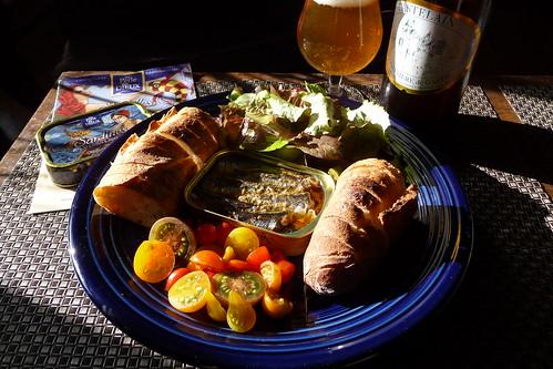 La Pele des Dieux au fromage de chevre et aux herves de Provence