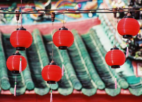 Kuching-lanterns