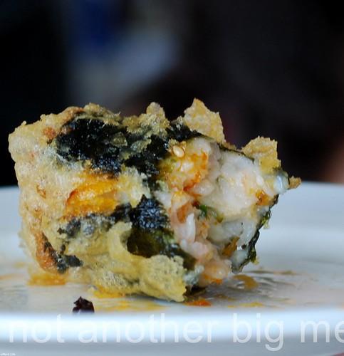 Yi Ban, Royal Docks - Seaweed roll
