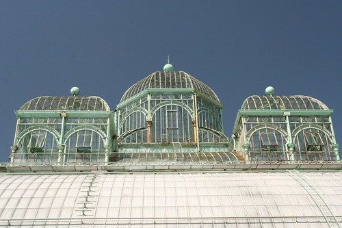 top of the greenhouse
