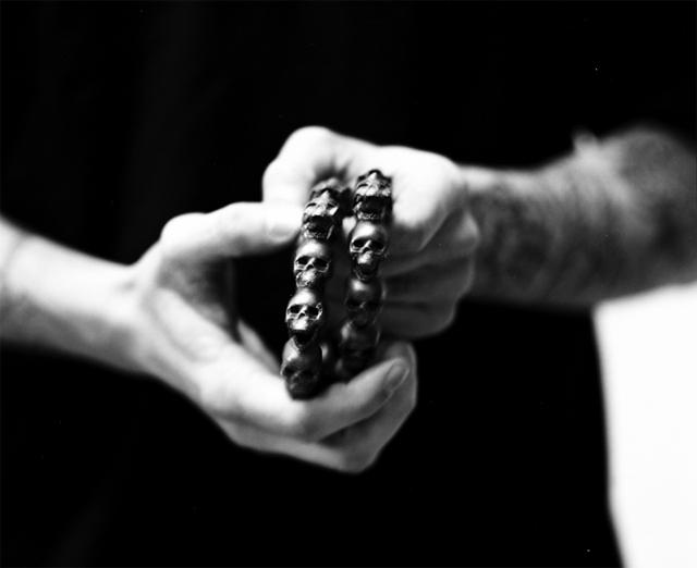 Giorgio Di Salvo Skulls Necklace 09