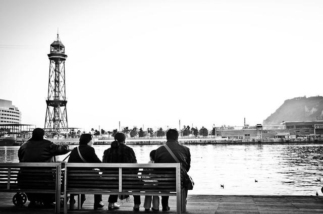 Barcelona se sienta...