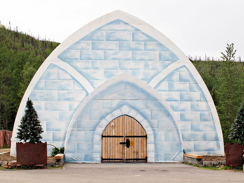 Chena Hot Springs Ice Museum – Fairbanks, Alaska