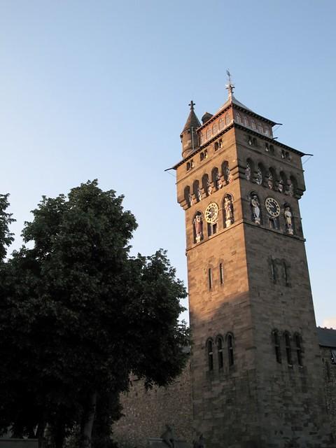 tour du château de cardiff