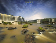 Foz do Iguacu Falls / Cataratas (Tomasito.!) Tags: longexposure nikon cataratas ndfilter fozdoiguacu d90 fozdoiguassufalls touristattractionsbrazil
