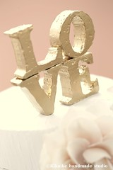 LOVE cake topper --Personalized Wedding Cake Topper - Monogram (charles fukuyama) Tags: wedding love anniversary weddingcake decoration handpainted caketopper goldplated homedeco initials loveletters cakedecoration handcut weddingcaketopper goldcolored partydeco handmadewedding monogramcaketopper personalizedtopper initialcaketopper kikuike wordcaketopper lovecaketopper