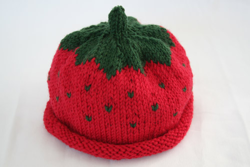 The Potential of Yarn: Strawberry Hat