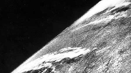 primera foto tierra desde espacio