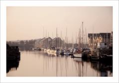 the yachts (Maddie Digital) Tags: city building marina liverpool docks river waterfront yacht masts mersey merseyside
