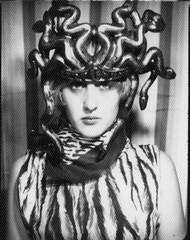 Madonna (Daniel Minnick) Tags: portrait white black color booth photo photobooth image picture photograph