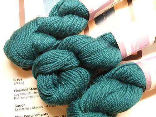 Louet Gems sock yarn
