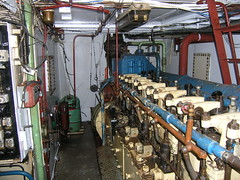 Engine room works