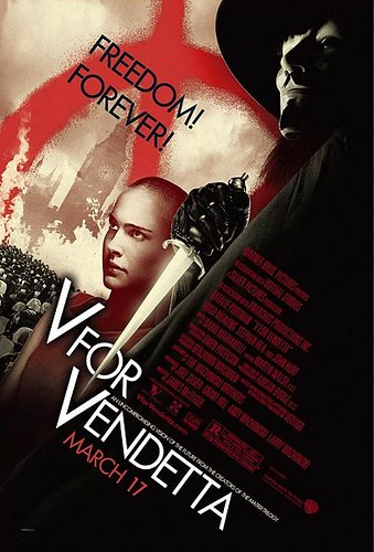 V for Vendetta (2006) release