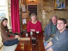 lunch at 'The Volunteer' pub in Chipping Campden (Jen and Cam) Tags: cotswolds chipping campden