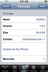 Sudoku Update 1.0.2