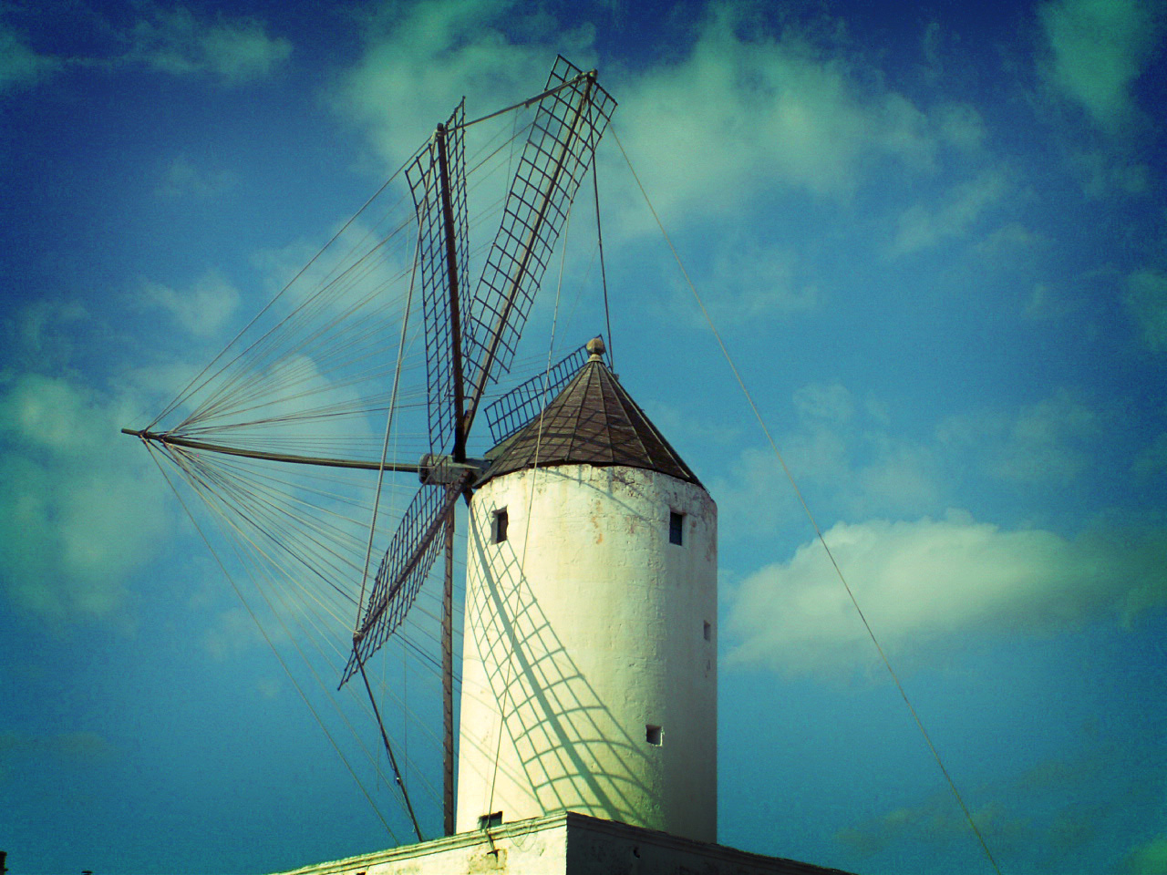 Photo des Baleares n°2. Moulin à Ciudadella
