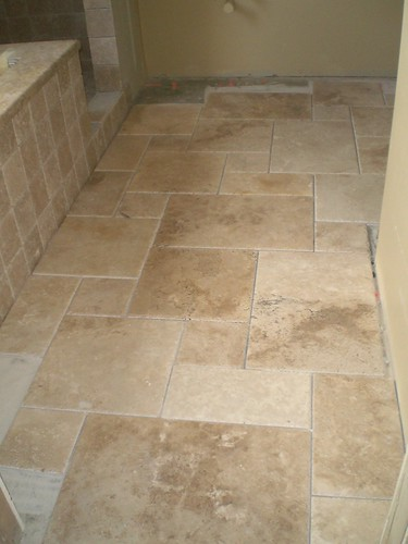 Seek Pics Of Large Travertine Tiles W Stained Painted Cabs
