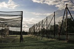 Fence (Drazen Tomic) Tags: park sky london grass clouds fence supershot drazentomic
