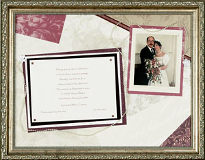 Wedding Anniversary Framed Keepsake