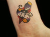 13 Dagger Tattoo By Dan Kubin