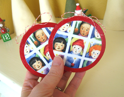 Holiday swap ornaments.