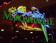 Jimmy Buffett's Margaritaville, Las Vegas (catface3) Tags: colors architecture lasvegas nevada parrot explore palmtrees entertainment neonlights thestrip margaritaville jimmybuffett casinos catface3