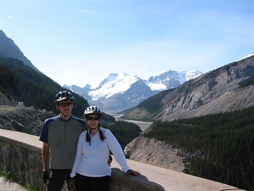 Scott and Becky in the Canadian Rockies