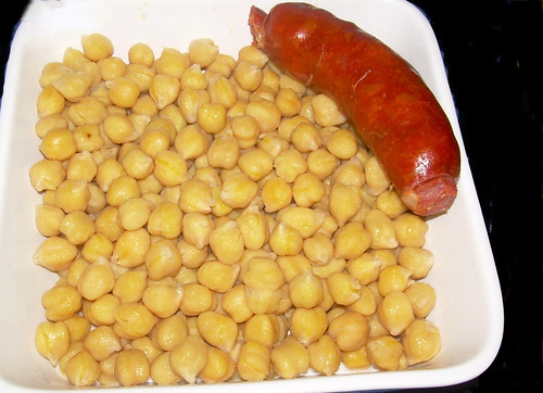 cocido gallego garbanzos+