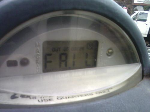 Parking Meter Fail