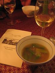 vietnamese crab & asparagus soup