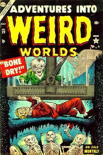 Adventures Into Weird Worlds 29 cov