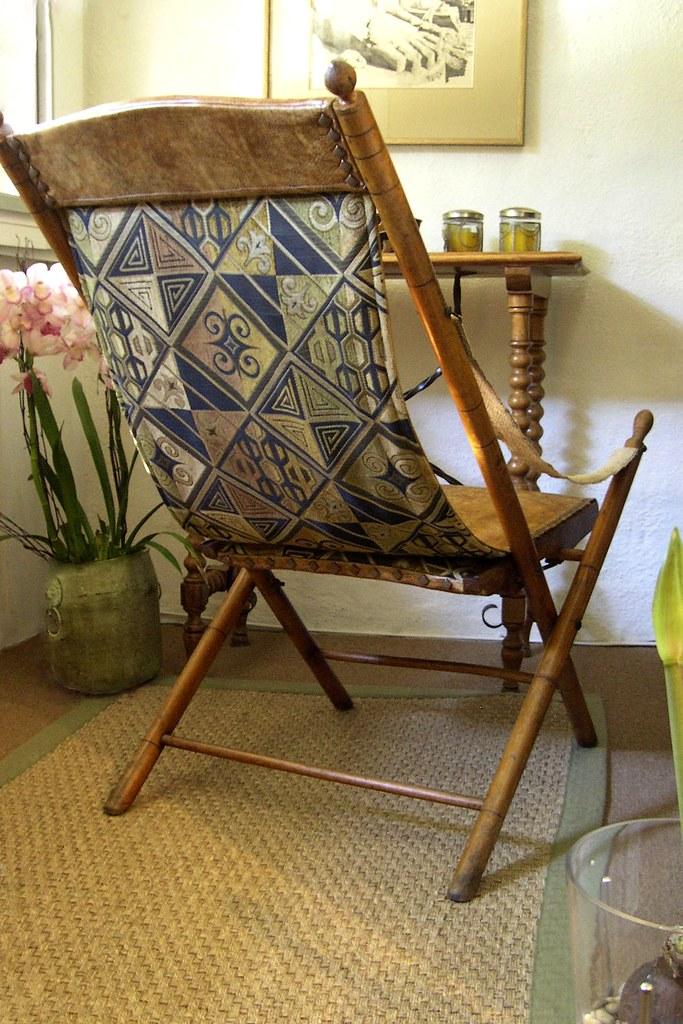 Twentieth Century Safari Chair