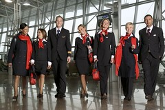 Brussels Airlines - group (baldpipeguy) Tags: blue red white male fashion female inflight uniform europe belgium wing purse uniforms scarves handbags cuff stewardess handbag purses necktie 2007 steward stewardesses flightattendants flightattendant stewards cabincrew neckwear brusselsairlines stewardessuniform airlinefashion flightattendantuniform flightattendantuniforms cabincrewuniform