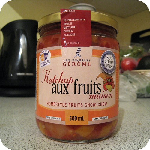 Katchup aux fruits