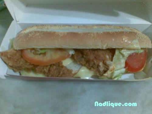 KFC XL Burger