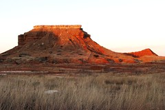 Evening Light At Lone Mountain - explore (Marvin Bredel) Tags: sunset oklahoma nature landscape evening explore lonemountain highway412 interestingness433 i500 marvin908 canonpowershots5is marvinbredel