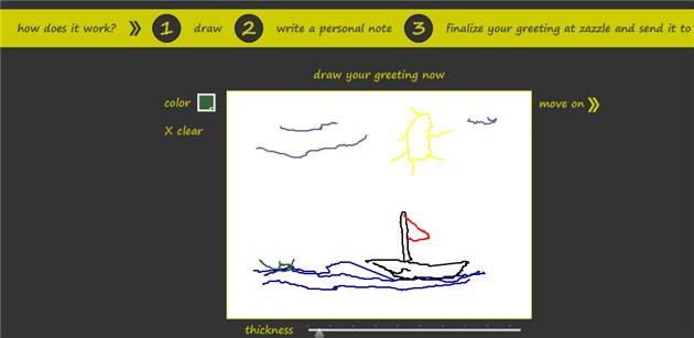 draw gretting