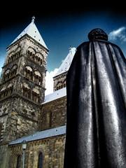 Lord Of Lund (Ǎɗɑɭ) Tags: lund cathedral sweden catedral sverige suecia domkyrka blueribbonwinner lundsdomkyrka dramaticangle groovygang anticando