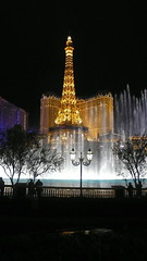 Bellagio fountains...and Paris