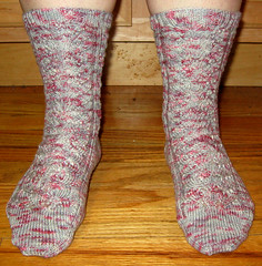 Baudelaire Socks in Dharmafey Bamboo Dexter - Front