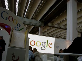 Google at Frankfurt Book Fair