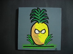 Artwork for NoLA Rising Art Auction Donated - Kimo The Pineapple