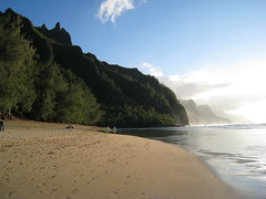 bali hai and na pali coast (ckubitsky) Tags: beach hawaii northshore kauai balihai napalicoast haenastatepark