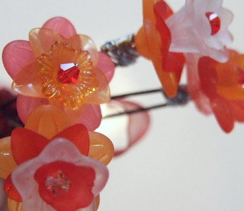 Candy Flower Hairpins.