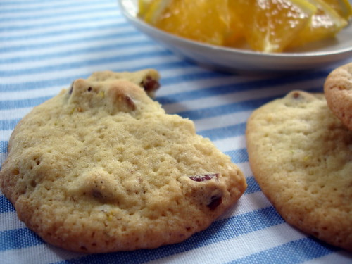 Orange and Pecan Sugar Cookies