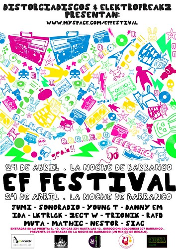 Afiche ElectroFreakz