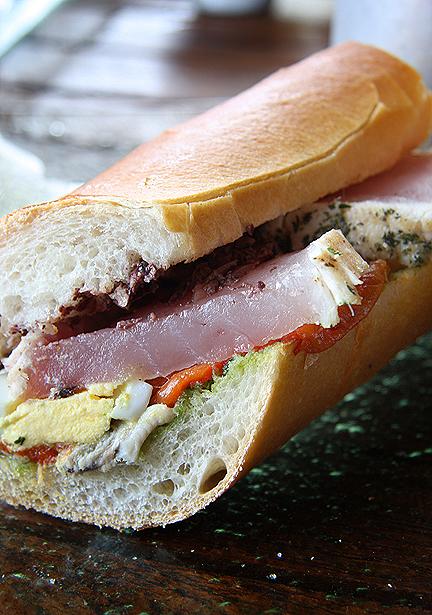 Fraiche Culver City Albacore Sandwich