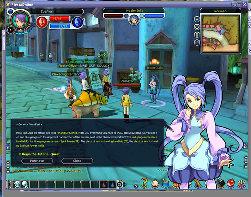 Outspark's Fiesta MMORPG