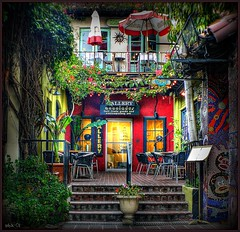 Shopping in Wonderland (...-Wink-...) Tags: california red yellow shop store scenic vivid loveit soe hdr ventura 1million colorphotoaward fz8 dmcfz8 excellentphotographerawards colourartaward theperfectphotographer goldstaraward mulimegashot qualitypixels passionateinspirations
