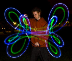 Butterfly Wings (Kenny Maths) Tags: longexposure light portrait scotland edinburgh led beltane themeadows firespinner kennymathieson abigfave